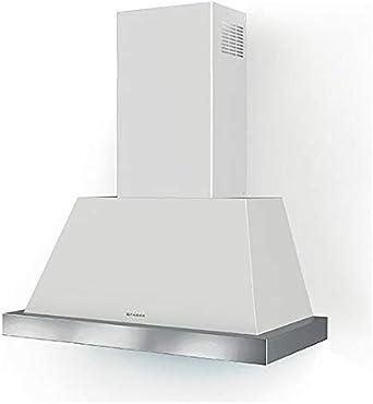 Faber THEA - Campana extractora de pared (80 cm), color blanco mate: Amazon.es: Grandes electrodomésticos