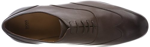 Marrón Boss Brown oxfr Zapatos Dark Cordones Hannover de Business 202 buwt Hombre Oxford para RRarfUvqwn