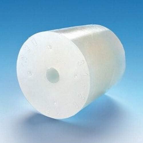 TAPPO IN SILICONE CON FORO 27//21mm Tappo Gorgogliatore Tappi di gomma con perforazione Fermentazione