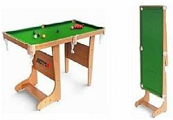 Tavolo da biliardo pieghevole 4' / 121cm: Amazon.it: Sport e tempo