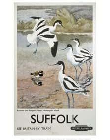 British Railways - Suffolk Print - 35.6x27.9cm