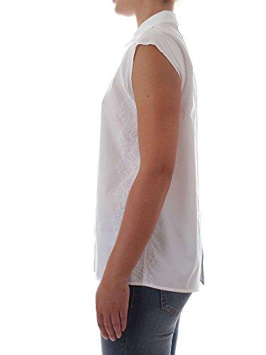 Blanc Coton Chemise 1B138F6716Z04 Femme Pinko EqnZ6FBw