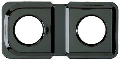 Range Kleen P501 Black Porcelain Rectangular Gas Stove - Hotpoint Oven Drip Pans