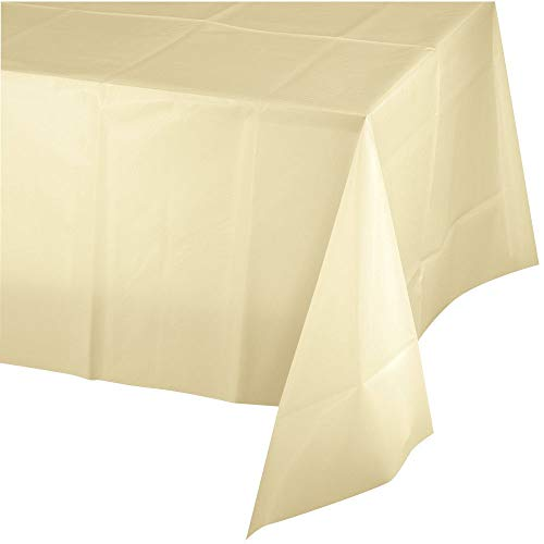 (Mountclear 12-Pack Disposable Plastic Tablecloths 54