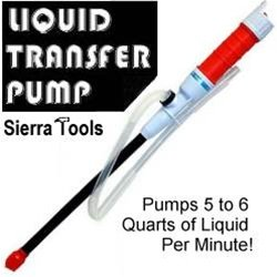 As Seen On TV THLIQTPUMP Liquid Transfer Pump