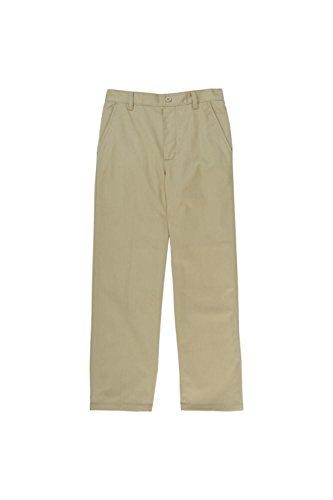 French Toast Little Boys' Pull On Pant, Khaki, 6