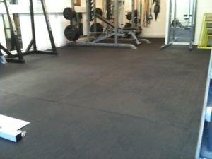 6 Mat 6 X Heavy Duty Large Rubber Gym Mat 18mm Garage Flooring