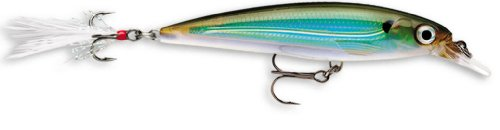 Rapala X-Rap 10 Fishing lure, 4-Inch, Moss Back Shiner