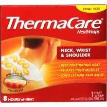 (ThermaCare Heat Wrap, for Neck, Wrist & Shoulder, 1 Heat)