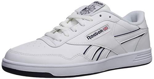 Reebok Men's Club MEMT Shoe, White/Cyan/White, 13 M US