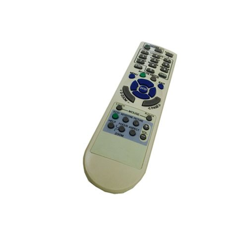 EASY Replacement Remote Control for NEC NP-VE281X NP3151W NP3250 Projector by EREMOTE