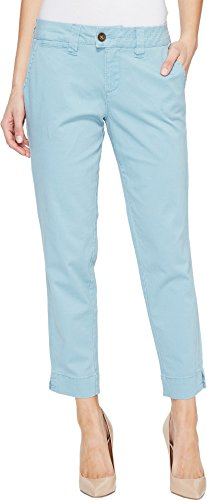 Twill Crop (Jag Jeans Women's Creston Ankle Crop In Bay Twill Nile Pants)