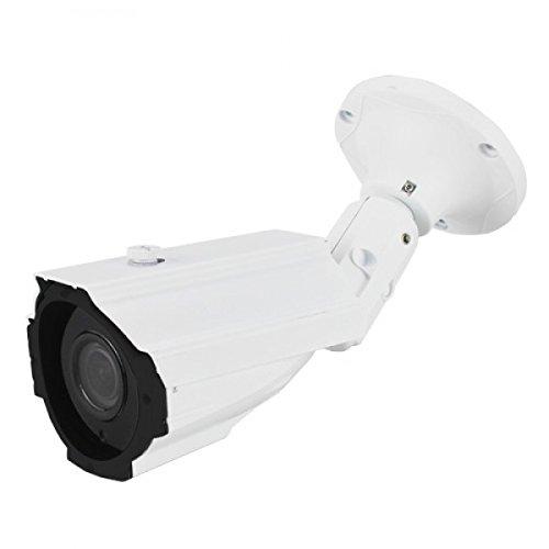 Dripstone 2.1MP Sony IMX323 Sensor 1080p HD-TVI 4-in-1 Bullet Security Camera 2.8-12mm Varifocal Lens IR-CUT 200ft Night Vision Range Outdoor Indoor Cam (Varifocal Bullet)