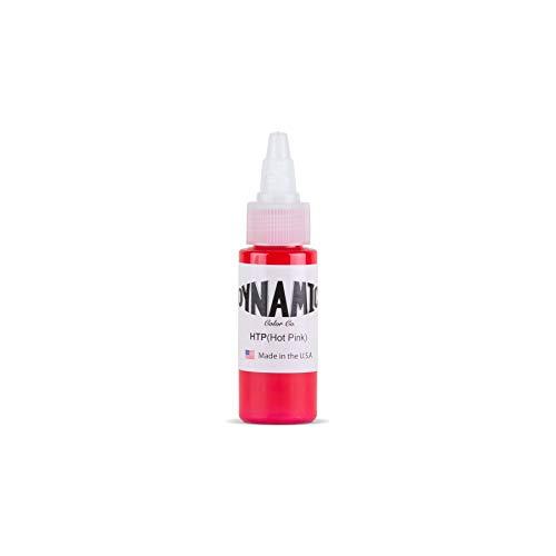 Dynamic Hot Pink Tattoo Ink Bottle 1oz