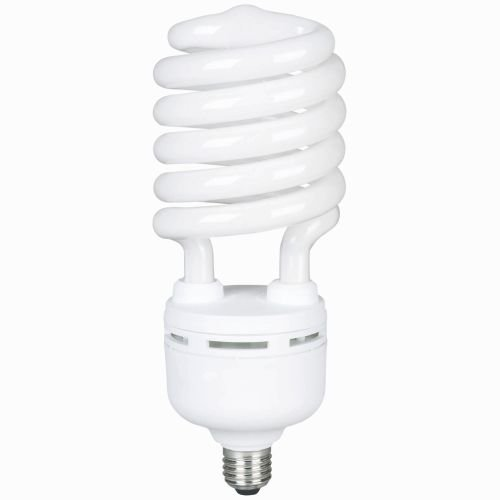 Overdrive 212, (06-Pack), 400-Watts Equivalent Mercury Vapour (Self-Ballasted), 85W High Wattage Spiral Compact Fluorescent Light Bulb, 80 CRI, (Daylight) Full spectrum by Overdrive