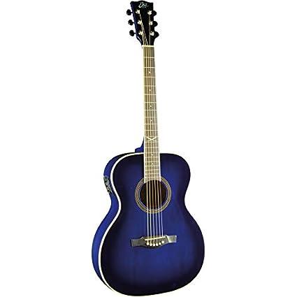 Guitarra acústica eléctrica EKO NXT 018 EQ Blue Burst