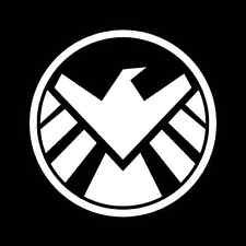 Marvel Shield Sticker Trucks Laptops