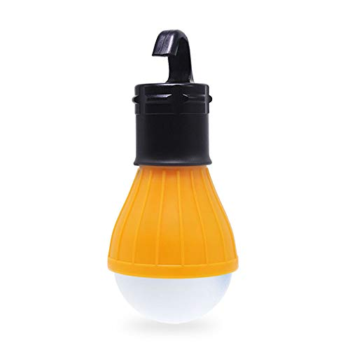Sleep Mode Hanging Tent Light – Amber LED Lantern, No Blue Light. Continue Sunset and Optimize Your Sleep While Camping with Tent Lantern. No Blue Light Output. Battery Operated.