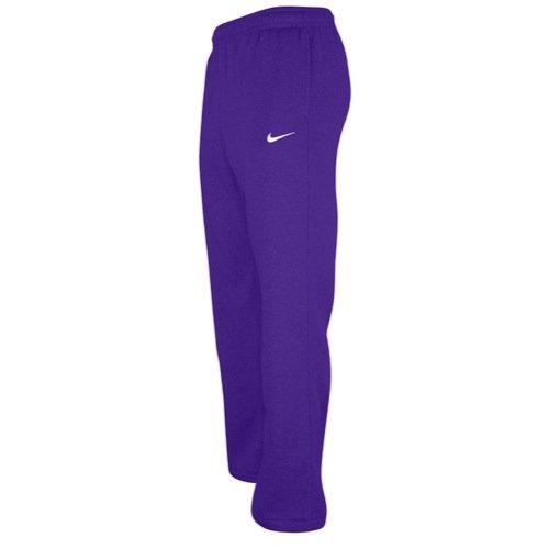 Purple Fleece Sweatpants - 1