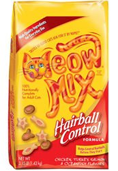 Meow Mix Hairball Control Formula Dry Cat Food