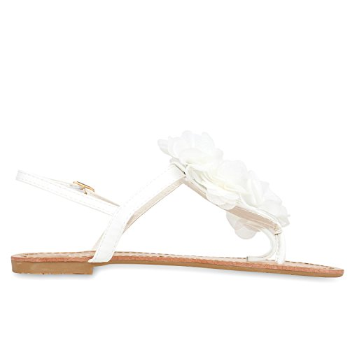 napoli-fashion - Chanclas Mujer Weiß