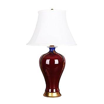 De Crimson Table CéramiqueClassique En Lampe Andea ED29WYHI