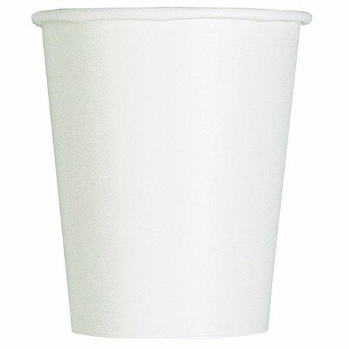 9oz White Paper Cups 14ct