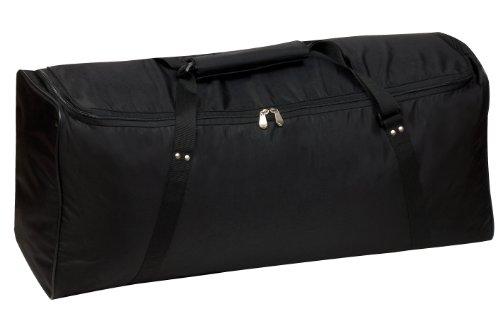 Champion Sports Deluxe Equipment Bag, Black
