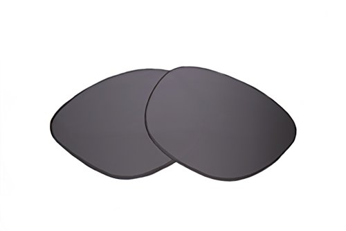 SFx Replacement Sunglass Lenses fits Fox The Decorum 56mm Wide (Ultimate Silver Mirror Black Pair-Regular)