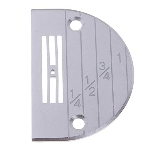 SM SunniMix Universal E Type Needle Plate/Feed Dog Plate for Most of Industrial Sewing Machines - ()