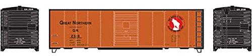 - Athearn HO 40' Box Car Single Door GN Express #2518