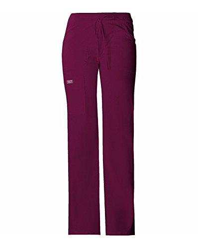 Core Stretch by Cherokee Workwear Women's Flare Leg Scrub Pant Large Tall (Girls Flare Leg Twill Pants)