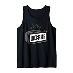 Digital Alarm Clock Work Wake-up Time Tank Top