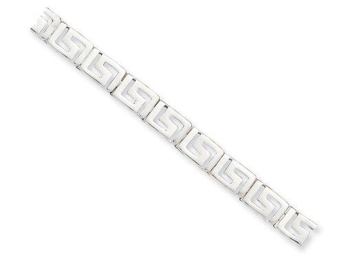- Finejewelers Sterling Silver Greek Key Bracelet