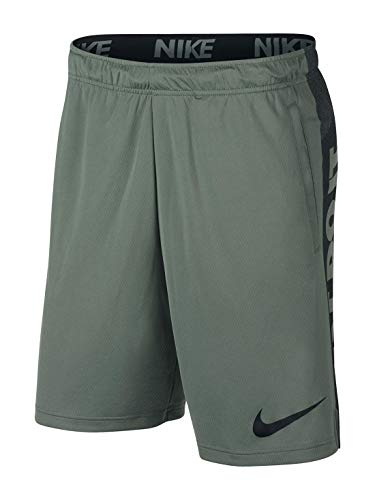 NIKE Performance Dry Men's Training Shorts (Clay Green/Black, S) ()