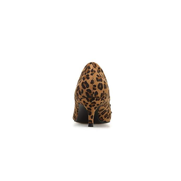 Fengjingyuan Tacchi Alti Da Donna - Bow Leopard Stiletto Versatili Scarpe A Punta Superficiale