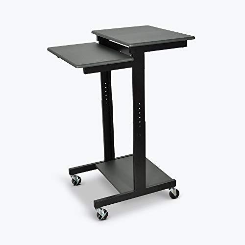 Luxor PS3945 - Adjustable Height Presentation Workstation Computer desk
