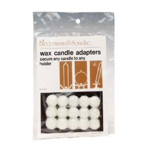 Wax Candle Adapters-2Pack