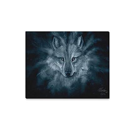 Amazon Com Wall Art Painting Download Wolf Spirit Hd