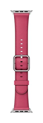 Apple 38mm Classic Buckle Smartwatch Replacement Band for Watch Series 1, Watch Series 2, Watch Series 3 - Pink Fuchsia by Apple