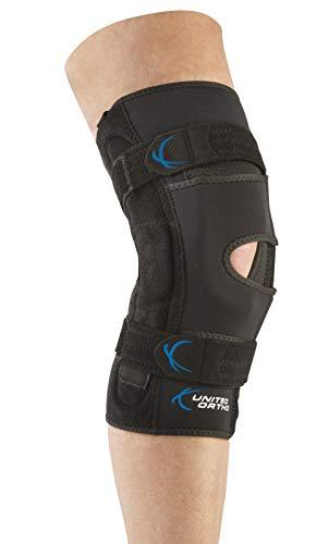 United Ortho 300081-09 Patella Stabilizer Hinged Knee Support Brace-Right, XX Large