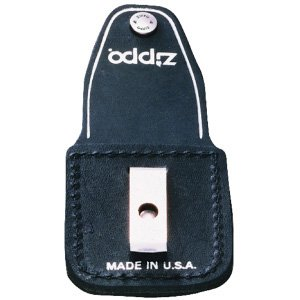 Zippo Black Lighter Pouch with Clip by Zippo