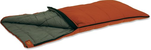 ALPS Mountaineering Crater Lake 20-Degrees Long Nylon Ripstop Rectangle Sleeping Bag (3.75-Pounds, 33 x 84-Inch), Outdoor Stuffs