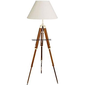 Campaign Tripod Lamp Amazon Com