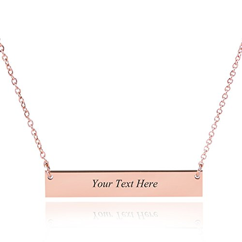 Top recommendation for boyfriend name necklace for her