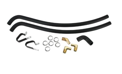S&S Cycle Oil Line Kit for Super Stock T2 Engine Case (Super Stock Engine Cases)