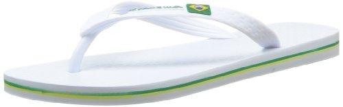 Beach Brasil II Ipanema Ipanema Flag Mens Brasil Flops White Flip xP6wqSO7