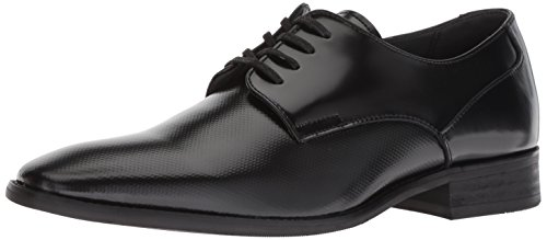 Calvin Klein Men's Ripley Oxford Flat, Black, 12 M US