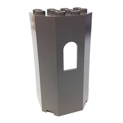 Lego 12 Panel 3 x 4 x 6 Turret Wall with Window Pieces