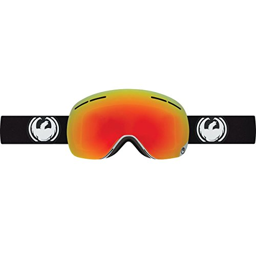 Dragon Alliance X1S Ski Goggles, Inverse/Red - Dragon X1